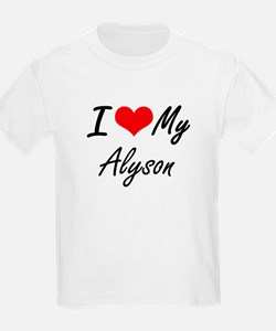 I love my Alyson T-Shirt