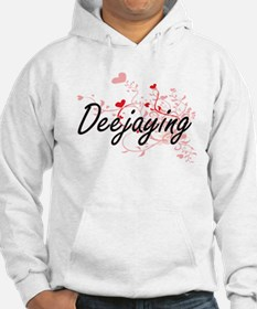 Deejaying Artistic Design with H Hoodie