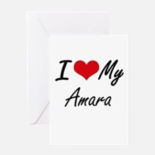 I love my Amara Greeting Cards