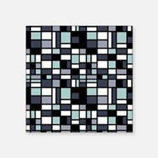 """SHADES OF BLUE Square Sticker 3"""" x 3"""""""