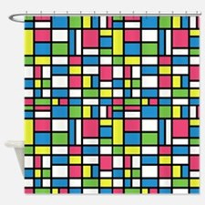 NEON COLORS Shower Curtain