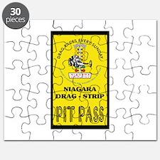 Niagara Drag Strip Pit Pass Puzzle