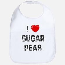 I * Sugar Peas Bib
