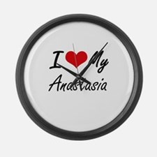 I love my Anastasia Large Wall Clock