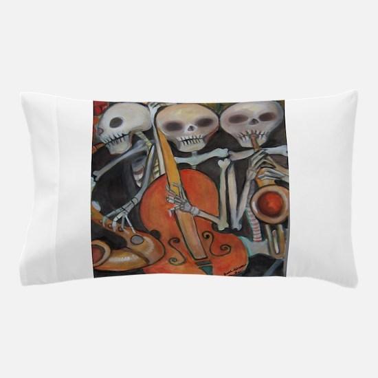 Halloween Three Musicians Pillow Case