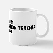 Physical Education Teacher co Mug