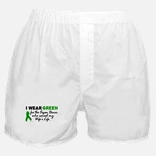 I Wear Green 2 (Saved My Wife's Life) Boxer Shorts