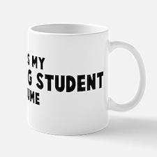 Advertising Student costume Mug