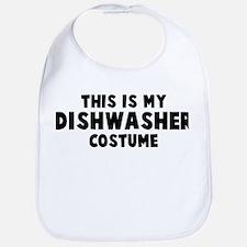 Dishwasher costume Bib