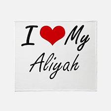 I love my Aliyah Throw Blanket