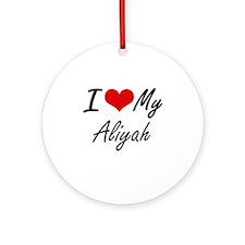 I love my Aliyah Round Ornament