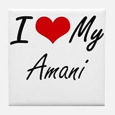 I love my Amani Tile Coaster