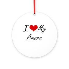 I love my Amara Round Ornament