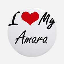 I love my Amara Round Ornament