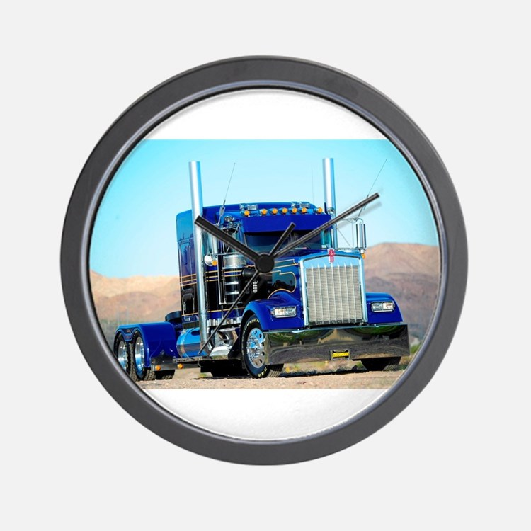 Cute Trucking Wall Clock