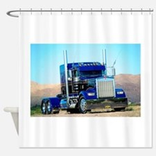 Cute Truck Shower Curtain