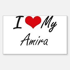 I love my Amira Decal