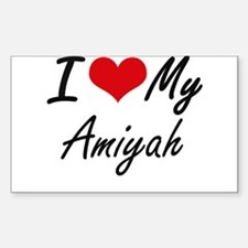 I love my Amiyah Decal