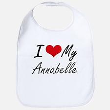 I love my Annabelle Bib