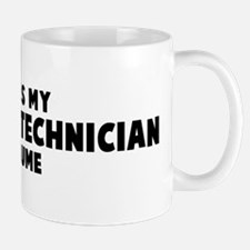 Pharmacy Technician costume Mug