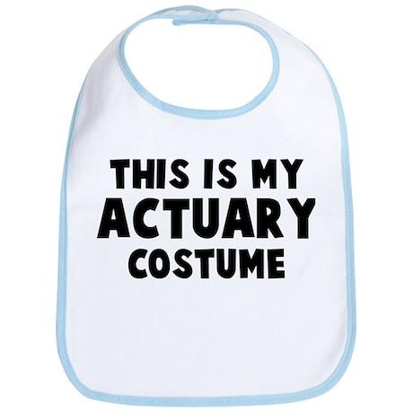 Actuary costume Bib