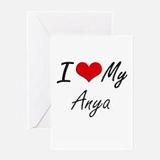 I love my Anya Greeting Cards