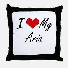 I love my Aria Throw Pillow