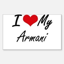 I love my Armani Decal