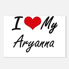 I love my Aryanna Postcards (Package of 8)
