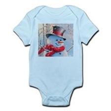 Snowman in the Woods Body Suit
