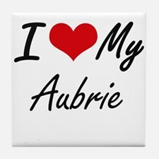 I love my Aubrie Tile Coaster