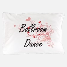 Ballroom Dance Artistic Design with He Pillow Case