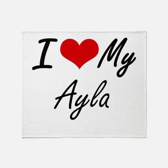 I love my Ayla Throw Blanket