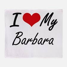 I love my Barbara Throw Blanket