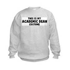 Academic Dean costume Sweatshirt