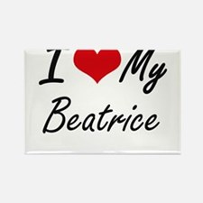 I love my Beatrice Magnets