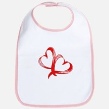 Double Heart Bib