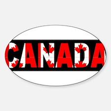 CANADA-BLACK Decal