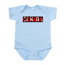 CANADA-BLACK Body Suit
