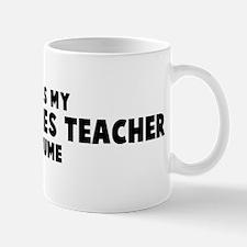 Peace Studies Teacher costume Mug