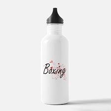 Boxing Artistic Design Water Bottle