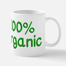 100 % Organic Mugs