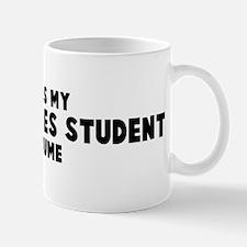 Peace Studies Student costume Mug