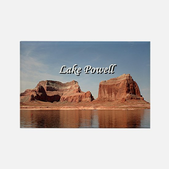 Cute Lake powell Rectangle Magnet