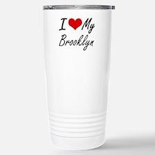I love my Brooklyn Stainless Steel Travel Mug