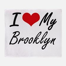 I love my Brooklyn Throw Blanket