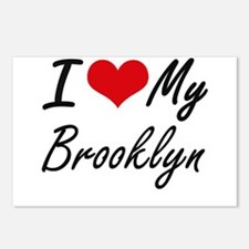 I love my Brooklyn Postcards (Package of 8)