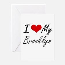 I love my Brooklyn Greeting Cards