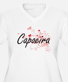 Capoeira Artistic Design with He Plus Size T-Shirt