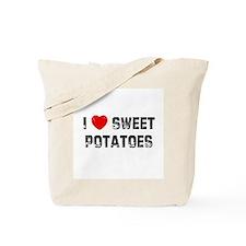 I * Sweet Potatoes Tote Bag